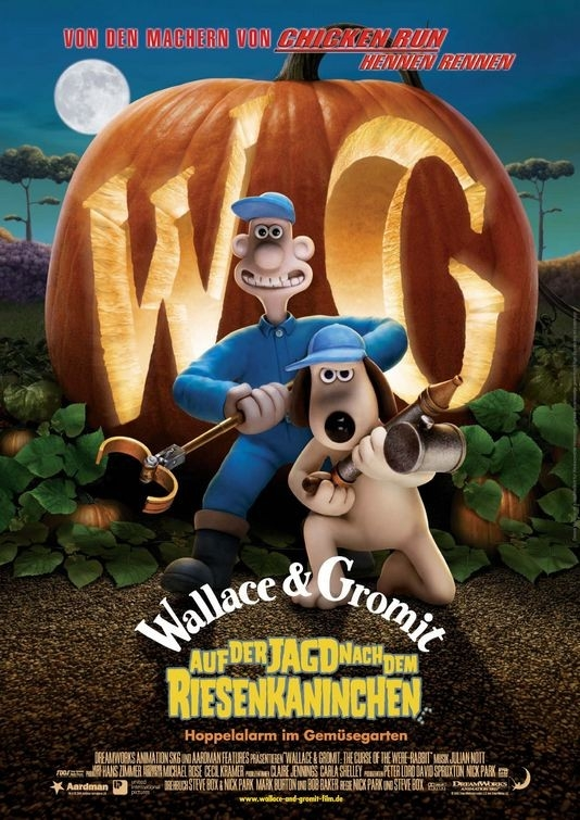 Locandina internazionale di Wallace & Gromit: The Curse of the Were-Rabbit