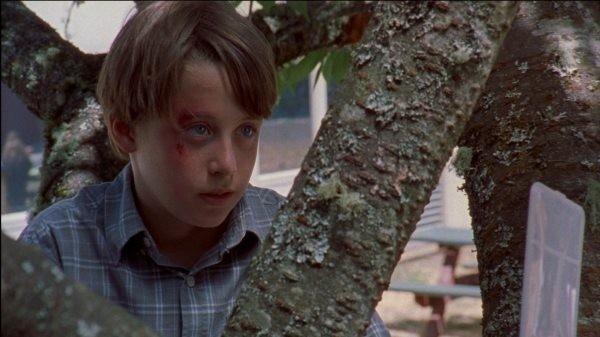 Rory Culkin iun una scena di Mean Creek