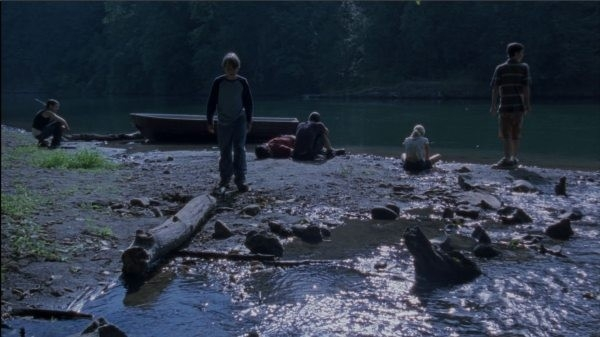 Una scena di Mean Creek