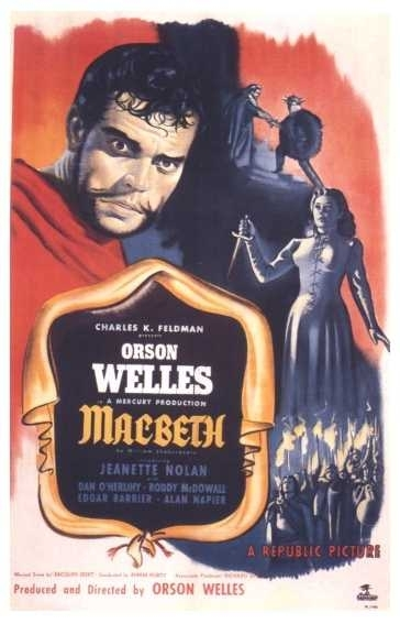 La locandina di Macbeth