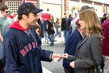 Drew Barrymore con Jimmy Fallon in L'amore in gioco