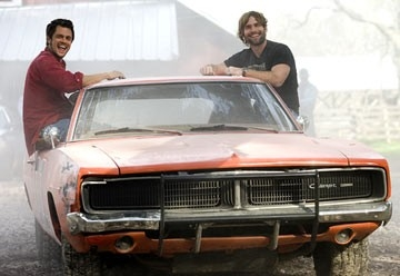 Johnny Knoxville e Seann William Scott in Hazzard