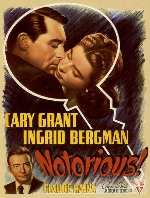 Poster americano di Notorious