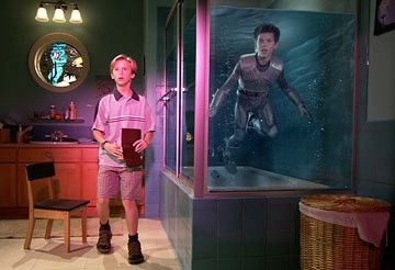 Cayden Boyd e Taylor Lautner in The Adventures of Shark Boy & Lava Girl in 3-D