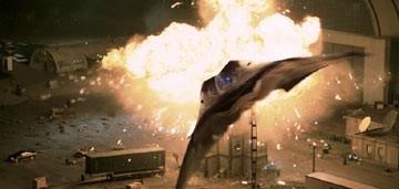 Una scena 'esplosiva' di Stealth - Arma suprema