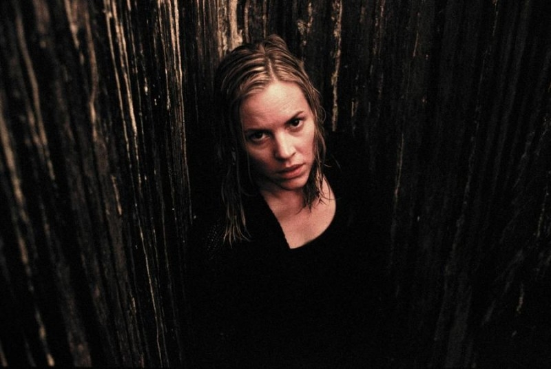 Maria Bello in una immagine dell'horror The Dark