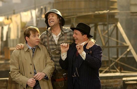 Matthew Broderick, Will Ferrel e Nathan Lane in una scena di The Producers
