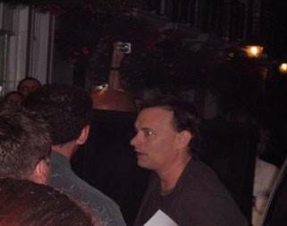Tom Hanks durante la lavorazione de Il Codice Da Vinci