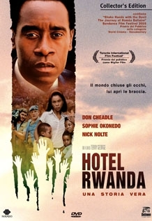La copertina DVD di Hotel Rwanda  - Collector's edition