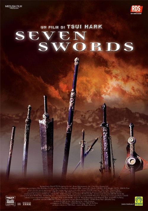 La locandina di Seven Swords