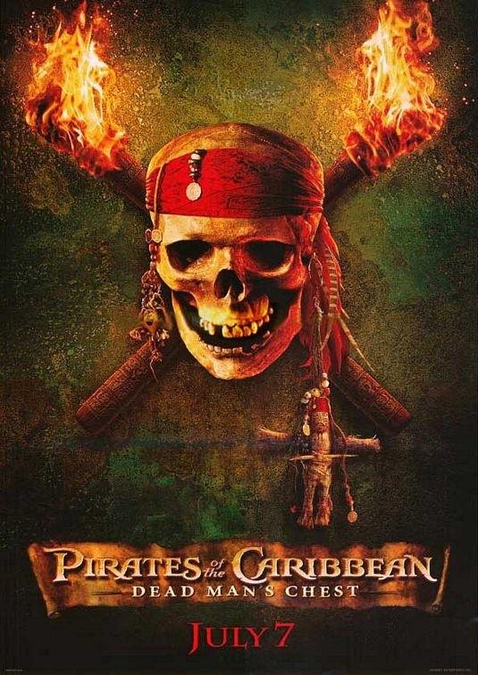 La locandina di Pirates of the Caribbean: Dead Man's Chest