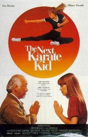 La locandina di Karate Kid 4