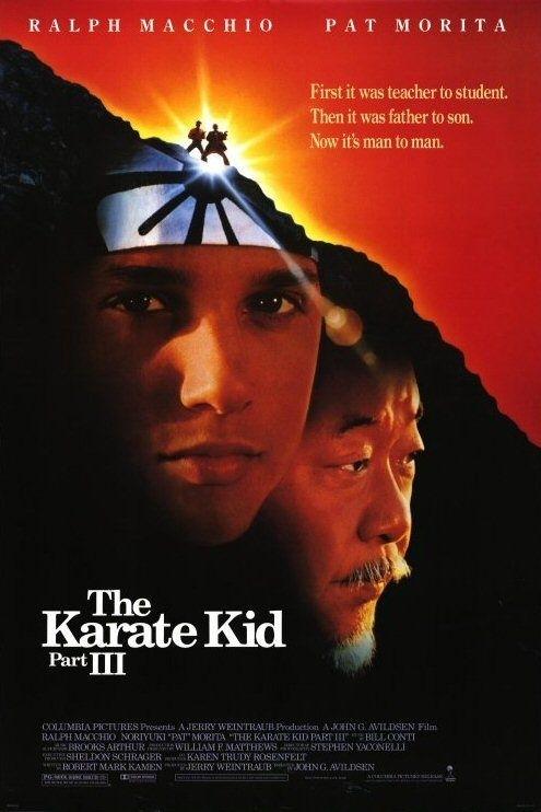 La locandina di Karate Kid III - la Sfida Finale