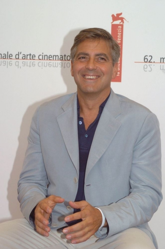 George Clooney a Venezia