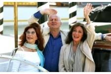 Ida Di Benedetto, John Irvine e Jaqueline Bisset