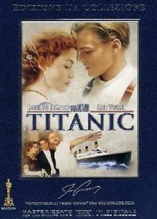 La copertina DVD di Titanic - Deluxe Collector's Edition
