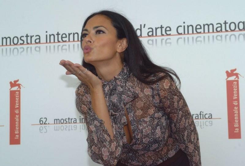 Maria Grazia Cucinotta a Venezia