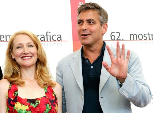 Patricia Clarkson e George Clooney a Venezia per Good Night, and Good Luck