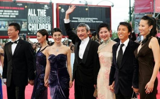 Venezia 2005: Tsui Hark e le attrici di 'Seven Swords'