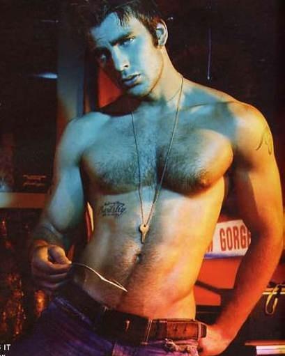 l'attore Chris Evans