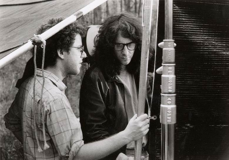Ethan e Joel Coen sul set di Crocevia della Morte