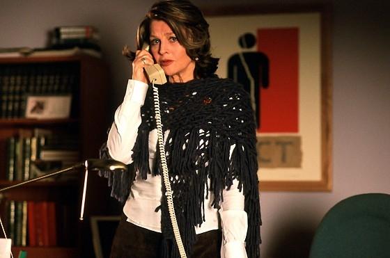 Julie Christie in una scena del film La vita segreta delle parole