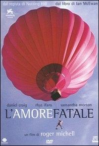 La copertina DVD di L'amore fatale