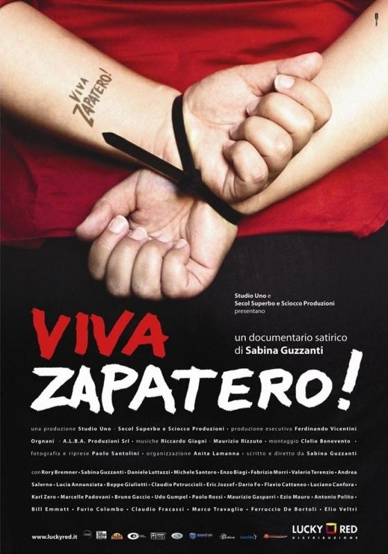 La locandina di Viva Zapatero!