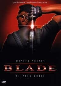 La copertina DVD di Blade