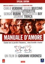 La copertina DVD di Manuale d'amore - Special edition
