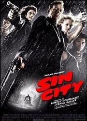 La copertina DVD di Sin City