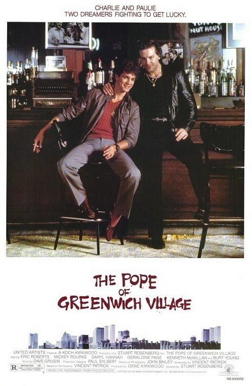 La locandina di Il Papa di Greenwich Village