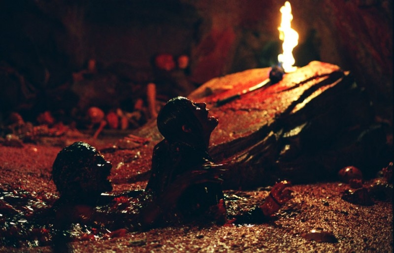 Una scena di The Descent del 2005