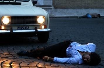 Una scena di Romanzo Criminal
