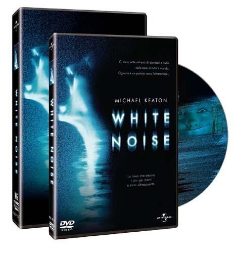 Il packshot del dvd di White Noise
