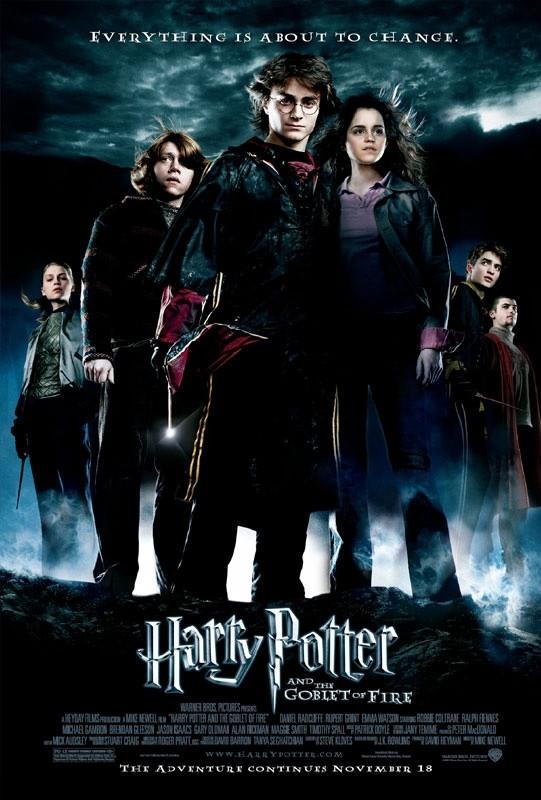 Il manifesto di Harry Potter e il calice di fuoco