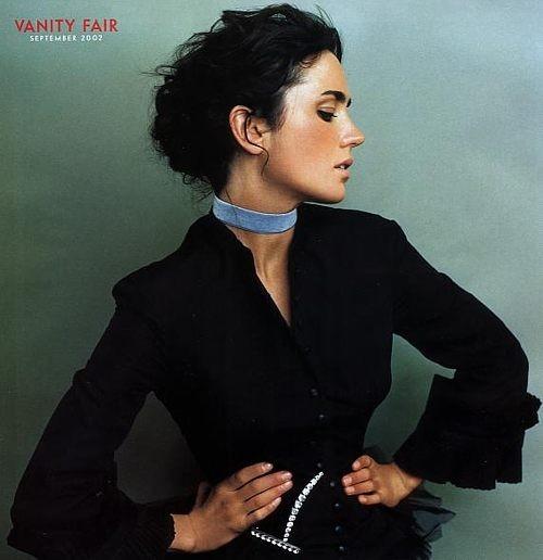 Jennifer Connelly in un servizio fotografico per il magazine Vanity Fair