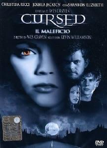 La copertina DVD di Cursed - Il Maleficio