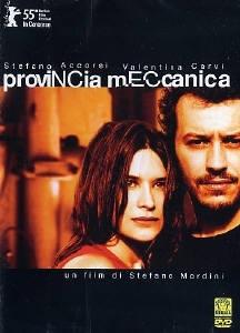 La copertina DVD di Provincia meccanica