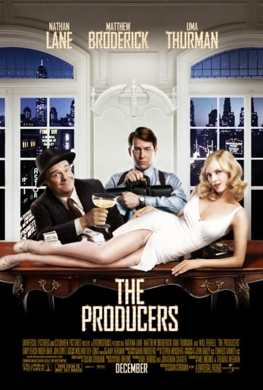 La locandina di The Producers