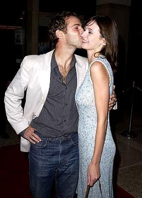 Emily Mortimer con il marito Alessandro Nivola