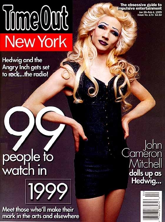 John Cameron Mitchell è Hedwig sul magazine Time Out