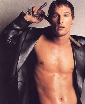 Matthew McConaughey, irresistibile icona sexy del cinema americano