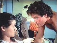David Hasselhoff in una sequenza de La casa 4