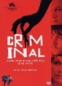 La copertina DVD di Criminal