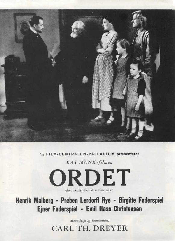 La locandina di Ordet - La parola