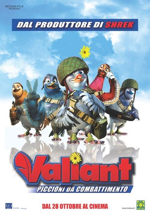 La locandina italiana di Valiant