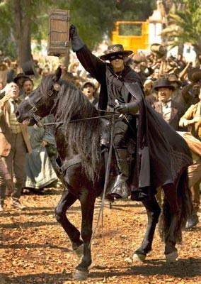 Antonio Banderas in The Legend of Zorro