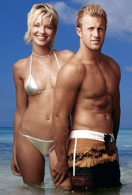 Ashley Scott e Scott Caan