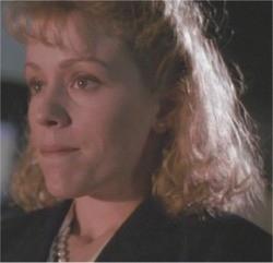 Frances McDormand in una scena di DARKMAN